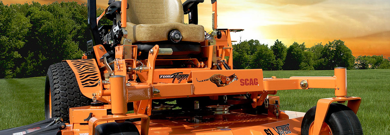 The Scag Turf Tiger Lawn Mower